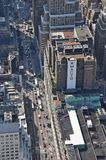 Sikt från Empire State Building i New York Royaltyfria Foton