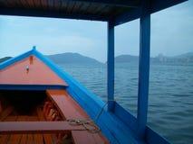 Sikt från ett fartyg Fotografering för Bildbyråer