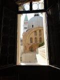 Sikt från ett Venedig fönster Royaltyfri Foto