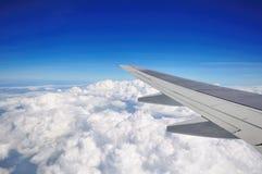 Sikt från flygplanet Royaltyfria Foton