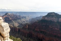 Sikt från Grand Canyon Royaltyfri Bild