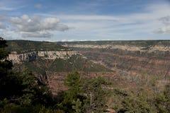 Sikt från Grand Canyon Arkivfoton