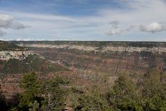 Sikt från Grand Canyon Arkivfoto