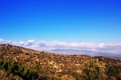Sikt från Griffith Observatory i Griffith Park, Los Angeles, Ca Royaltyfri Bild