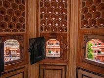 Sikt från Hawa Mahal Royaltyfri Foto