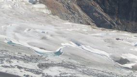 Sikt från helikopterutfärd på den Mendenhall glaciären Juneau Alaska fotografering för bildbyråer