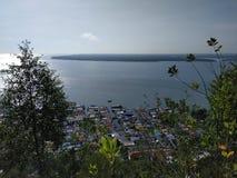 Sikt från hill& x27; s-vinkel arkivfoto