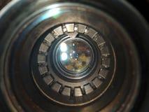 Sikt från inre fotolinsen Royaltyfri Foto