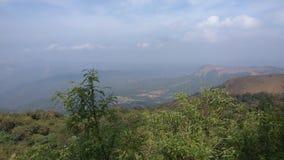 Sikt från Kodachadri den Trekking slingan Fotografering för Bildbyråer
