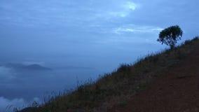 Sikt från Kodachadri den Trekking slingan Arkivbild