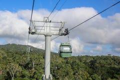 Sikt från Kurandaen Skyrail fotografering för bildbyråer