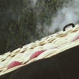 Sikt från luftballongen Arkivbild
