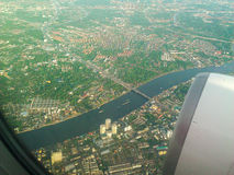 Sikt från luftnivån arkivbilder