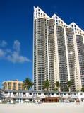 Sikt från Miami Beach Royaltyfria Foton