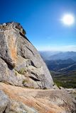 Sikt från Moro Rock, USA royaltyfri foto