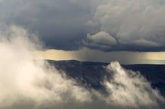 Sikt från ovannämnt på ön Krk Royaltyfria Foton