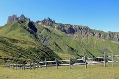 Sikt från Passo Duron Royaltyfri Bild