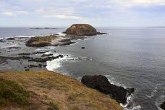 Sikt från Phillip Island in mot Nobbiesen Royaltyfria Foton