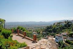 Sikt från Ronda i Andalucia Fotografering för Bildbyråer