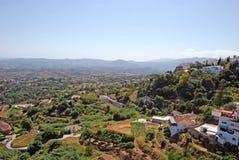 Sikt från Ronda i Andalucia Royaltyfria Foton