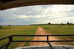 Sikt från Safari Truck Royaltyfri Fotografi