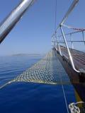Sikt från shipen Arkivbilder