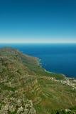 Sikt från tabellberget, Capt Town, Sydafrika royaltyfria foton