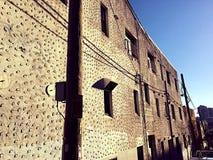 Sikt från terrass i Barcelona Arkivbilder