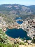 Sikt från toppiga bergskedjan Buttes, Kalifornien royaltyfri fotografi