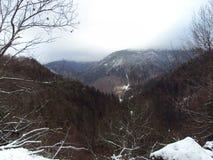 Sikt från Transylvania Royaltyfri Bild