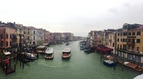 Sikt från Venedig Royaltyfria Foton