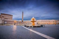 Sikt fr?n Vatican City, hj?rtan av katolsk kristendomen royaltyfri foto
