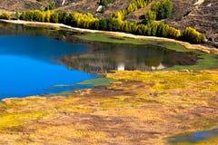 Sikt i höglandet, Sichuan, Kina royaltyfri fotografi