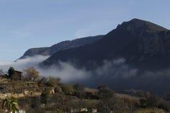 Sikt i kullarna av La Rioja Royaltyfri Bild
