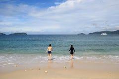 Sikt i Malaysia Sabah Fotografering för Bildbyråer