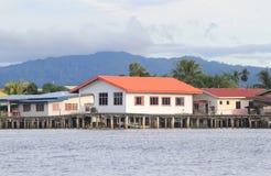 Sikt i Malaysia Sabah Arkivfoto