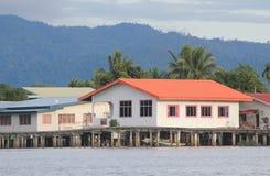 Sikt i Malaysia Sabah Royaltyfri Foto