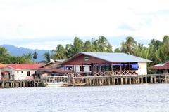 Sikt i Sabah i Malaysia Royaltyfria Foton