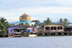 Sikt i Sabah i Malaysia Fotografering för Bildbyråer