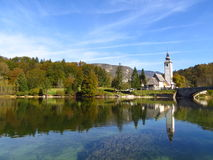 Sikt i Slovenien Arkivfoton