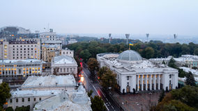 Sikt ok Kiev Royaltyfria Foton
