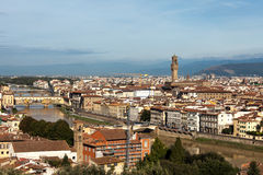 Sikt ovanför Florence Royaltyfri Bild