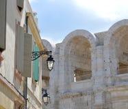 Sikt på Arles Royaltyfria Bilder