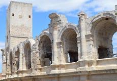 Sikt på Arles Royaltyfria Foton