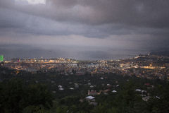 Sikt på Batumi, Georgia Royaltyfria Foton