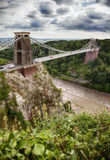 Sikt på den Bristol bron Royaltyfria Bilder