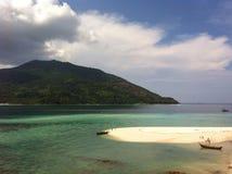 Sikt på den Lipe ön Fotografering för Bildbyråer