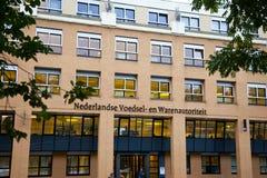 Sikt på det holländska kontoret av nederländsk mat- och konsumtionsproduktsäkerhetsmyndighet Royaltyfri Fotografi