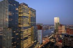 Sikt på ` för `-De Rotterdam, Royaltyfria Bilder