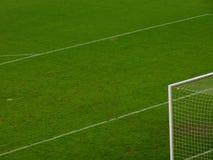 Sikt på fotbollfält Royaltyfri Bild